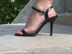 Sexual attractive mature feet