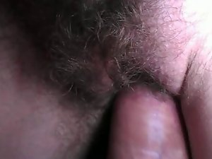Close up sperm on cunt