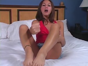 adriana deville foot worship Jerk off encouragement