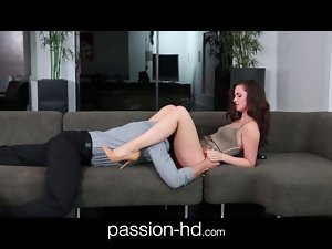 Passion-HD graceful 19 years old spinner coed banged