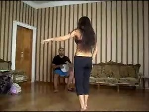 Alla Kushnir sexual belly Dance part 28