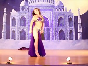 Alla Kushnir sexual belly Dance part 30