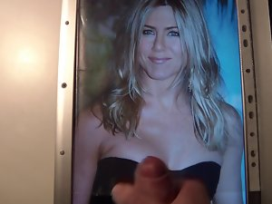 Cum on Jennifer Aniston