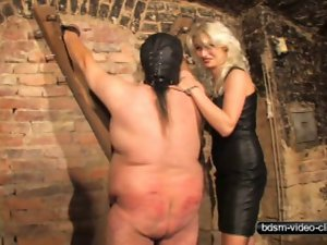 Caning a Plumper Slave