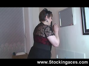 Big titted Attractive mature Nympho Alison