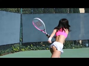 FantasyHD Nude Tennis Becomes tempting