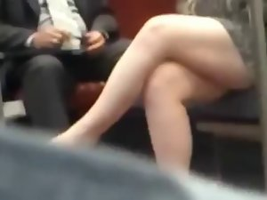 Candid Sexual Crossed Legs 14