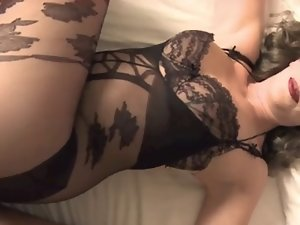 filthy cougar in bodystocking screws