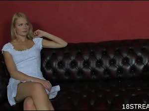 Seductive saucy teen blondie fantasy