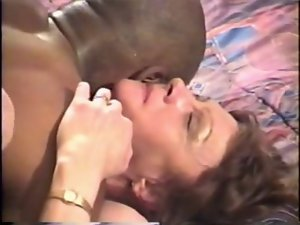 Beth Morgan Tries Ebony Pecker