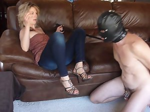 Slutty mom in Law owns your chastity Key!