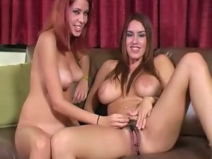 Nikki and her friend encourage jerking off