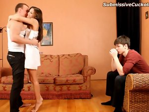 Whorish better half one night stand unloads into her submissive