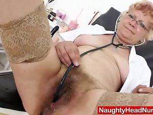 Woolly grandma unshaved vulva closeups