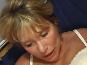 FRENCH Aged n35 tempting blonde asshole mama vieille salope