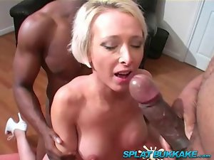BBC gangbang for UK mum Tracy Venus