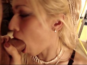 Serbian blondie young lady casting (Andrea Kanjiza)