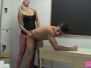 Pornstar Macy Cartel BTS first time Pegging Fellow