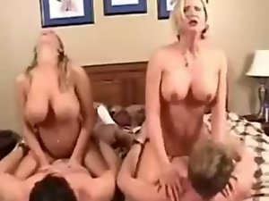 Amber Lynn Bach & Desirea in a unbelievable Foursome