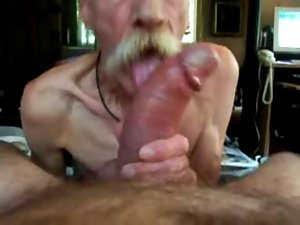 grandpa suck huge shaft