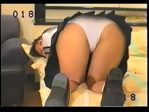 Farting Seductive japanese Young lady