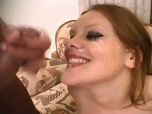 English whore Autumn gets banged on the sofa