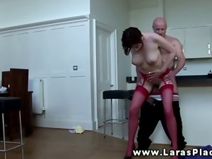 Top heavy euro slutty girl licking and screwing and cant get enough