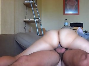 JIGGLY Dirty ass Young lady ON TOP