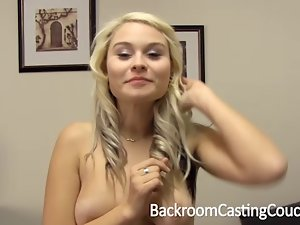 Asshole Angel Creampie Casting
