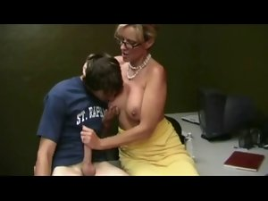 Attractive Mum Helping Student by TROC