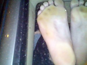 Teenager CANDID MIXED MEXICAN SOLES FRESH OUT OF SHOES