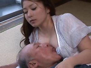 Mirai Haneda - 01 19 years old Dirty wife and Older Man