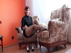 Attractive mature JOI for the job