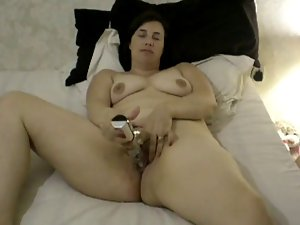 holly playing with vibrating sex toy