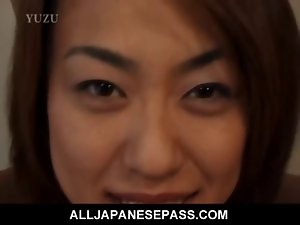 Big titted Aya Kurosaki delights her body being oiled up