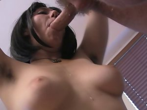 bushy sylvia banged