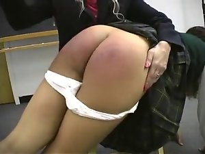 Slutty chicks spanked by her teacher 3