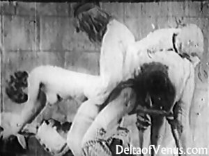 Antique Porn 1920s - Bastille Day - Very hairy French Randy chicks