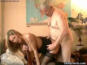 Sexual maid wants aged pecker