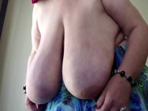 SSBBW Anika Q - Swinging Massive Dangling Fantasic juggs