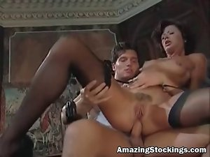 Vintage stockings and garters Mum banged
