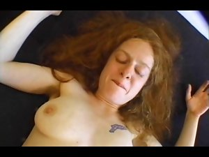 Bushy Pale Redhead Michelle Requests A Banging