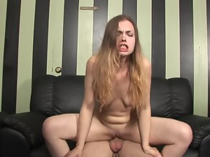Sensual stepsister is ready to taste a huge shaft in this attractive episode
