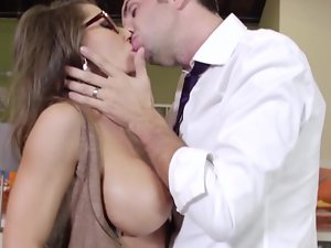 Superior Mummy gets wild seeing a extremely huge shaft in front of her face