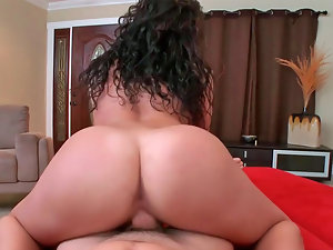 Two sensual gals Paige and Sasha ride a big enormous pecker