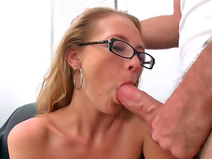 Excellent blond bombshell Natasha gets hammered brutal on a couch