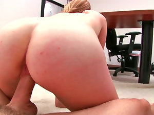Blue eyed blondie honey delights butthole stimulation