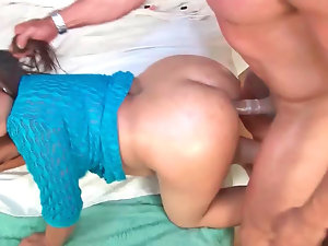 Lorena Lobos loves playing brutal while being banged from behind