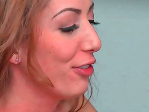 Vivie Delmonico stroking erect wiener and getting drilled absolutely deep