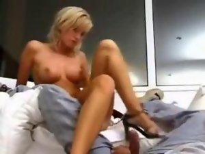 Amateur 18 year experienced blond banging
